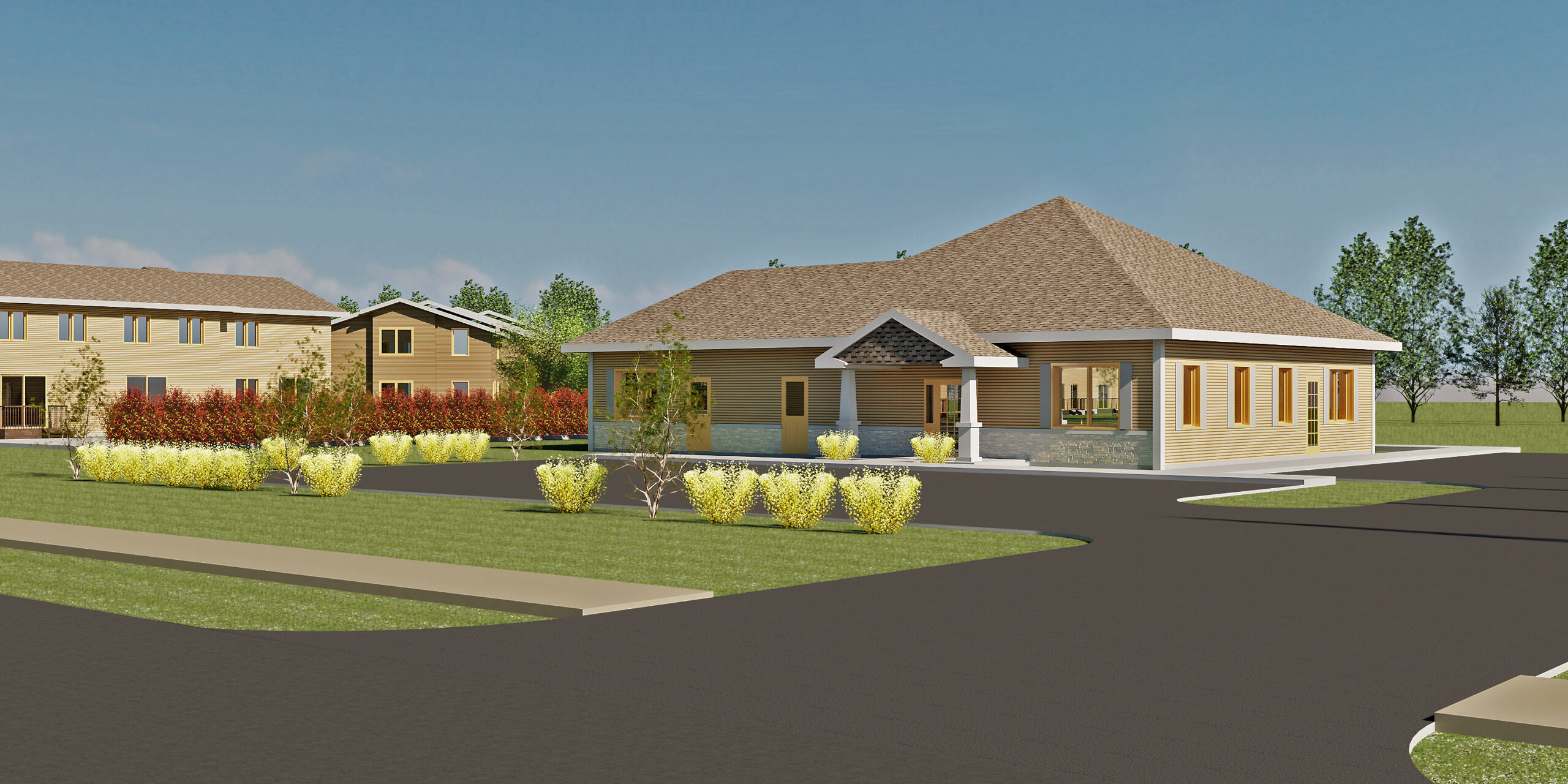 New Community Building/Leasing Office